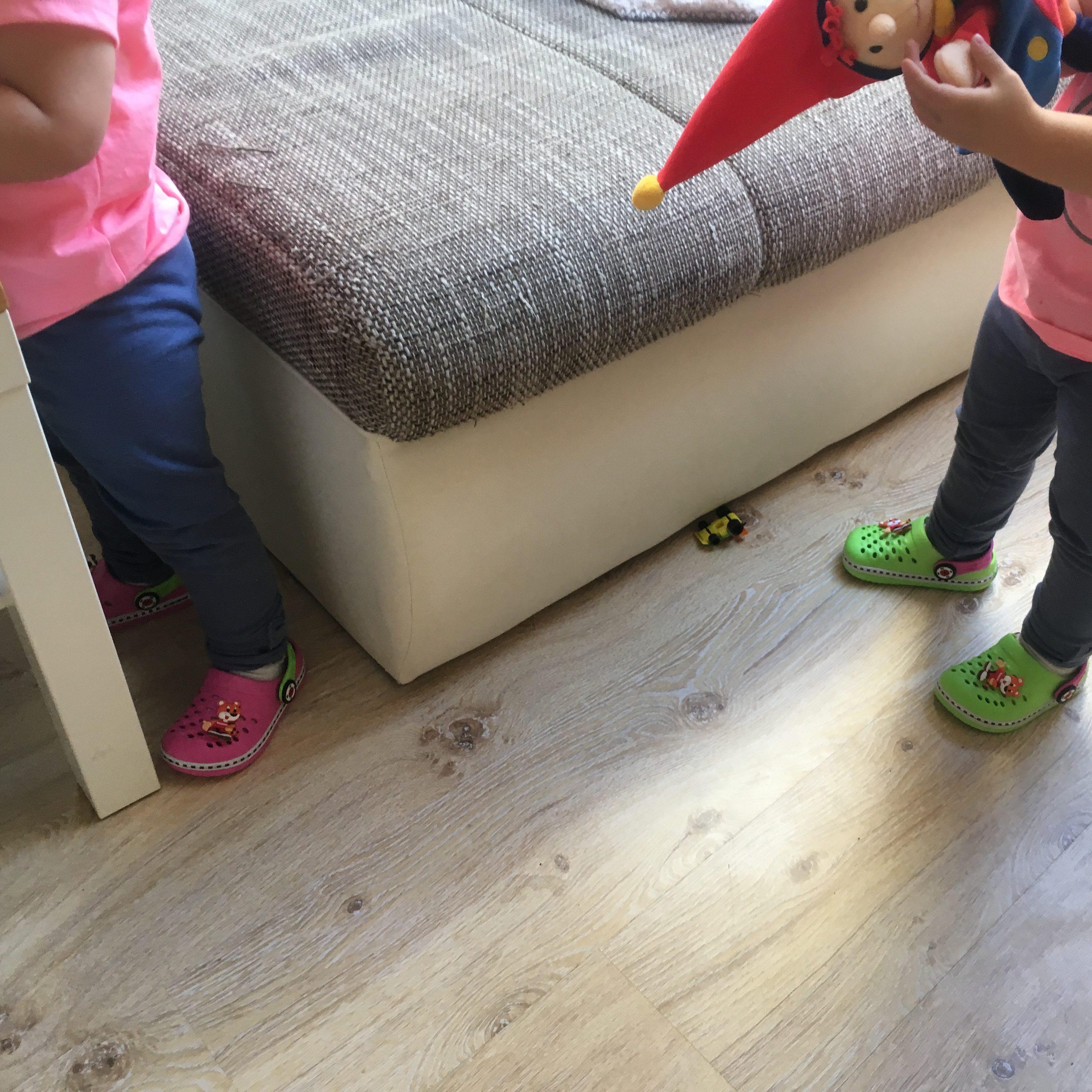 Die neuen Schuhe werden ausgiebig getestet ;)